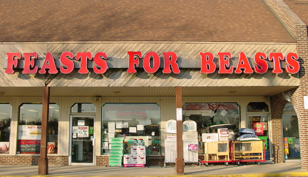 Feasts For Beasts Location